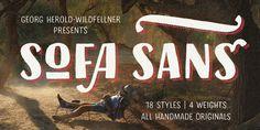 Sofa Sans | Slanted - Typo Weblog und Magazin
