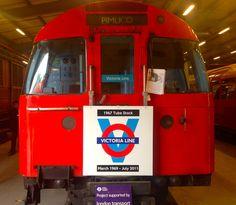 1967 Victoria Line stock, London Transport Museum Depot, Acton