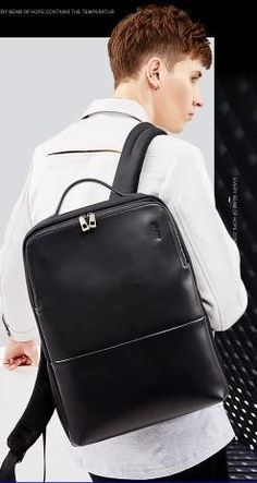 BOPAI Modern Leather Backpack - BagPrime - Look Your Best with Amazing Bags   bags   79be6ac19b