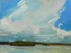 Storm Cloud in the Distance  by Laurel Daniel