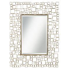 Modern mirror from Kichler! #lightingbydesign