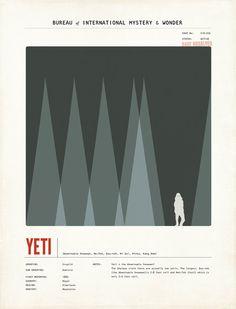 Yeti Illustration by Amy Sullivan
