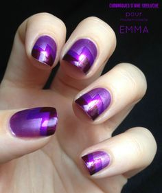 purple dynasty #nail polish design