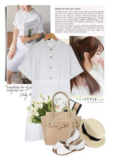 """YesStyle"" by yexyka ❤ liked on Polyvore featuring PPGIRL, Pin Show, NDI, ANS, Pinksisly, Summer, contest and yesstyle"