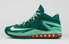 "Nike LeBron Max 11 Low ""Mystic Green"" - EU Kicks: Sneaker Magazine"