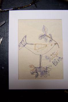 Glitter Bird by Ruth Zanoni