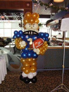 football banquet centerpieces -