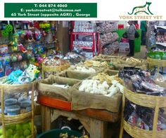At #YorkStreetVet we stock a wide range of chew treats for you to spoil your #Dog this #WoofWednesday. For more information, call 044 874 4060 or visit us at 65 York Street, George. #ilovemydoghttps://www.facebook.com/Yorkstreetvetshop/photos/pb.646016452164207.-2207520000.1439134251./804419236323927/?type=3