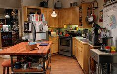 Resultado de imagem para apartamento sheldon e leonard
