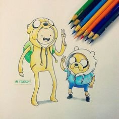 Adventure Time Finn Mertens The Dog Jake The Human