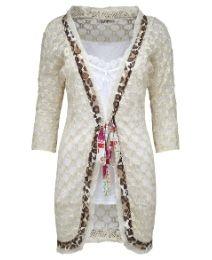 23385edf0643b Joe Browns Crochet Cardigan Kinds Of Clothes