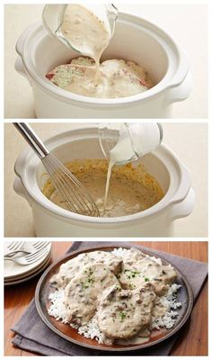 Slow-Cooker Creamy Ranch Pork Chops Recipe