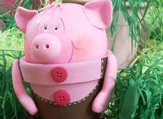 Lembrancinha de porquinho