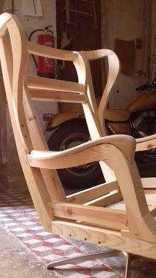 "ESQUELETAJES Y TAPICERÍAS: SILLON OREJERO ""ERIKA J MODEL."" Royal Furniture, Furniture Legs, Furniture Upholstery, Unique Furniture, Wood Chair Design, Couch Design, Living Room Sofa Design, Latest Sofa Designs, Modern Sofa Designs"