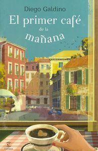 EL PRIMER CAFÉ DE LA MAÑANA Massimo tiene poco más de treinta años y es el dueño de una pequeña cafetera en el Trastevere, en el corazón de Roma. Cad día, al salir el sol, cruza las calles todavía dormidas de la ciudad y abre su bar. Sus clientes, las nuevas recetas de café que siempre anda probando; esta es su vida y no necesita más, se dic ámismo. http://www.imosver.com/es/libro/el-primer-cafe-de-la-manana_0010029073