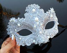 Masquerade Mask Masquerade Ball Masks Silver Lace by Sweet 16 Masquerade, Masquerade Wedding, Masquerade Masks, Elegant Masquerade Mask, Masquerade Ball Decorations, Mascarade Mask, Masquerade Ball Party, Venetian Masquerade, Mardi Gras