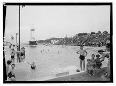 הבריכה בין 1940-1946
