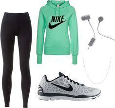 """Running Outfit"" by adaraaa on Polyvore Buy these at Amazon At discount HERE http://astore.amazon.com/kindlelaptcom-21-20"