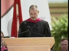 Steve's 2005 Stanford commencement speech. I hope we can all take his message to heart.