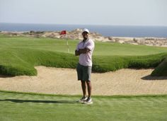 Tiger Woods stands near the seventh green at El Cardonal. His course will be the second at Diamante, joining Davis Love III's Dunes Course, which is 52nd on Golf Magazine's Top 100 Courses in the world.