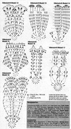 Crochet Patterns Christmas Crochet Bells with DiagramsRomans z szydełkiem: listopada Crochet Patterns Part 3 - Beautiful Crochet Patterns and Knitting Patterns Crochet Snowflake Pattern, Christmas Crochet Patterns, Crochet Snowflakes, Christmas Knitting, Crochet Doilies, Crochet Christmas Decorations, Crochet Ornaments, Christmas Crafts, Crochet Diagram