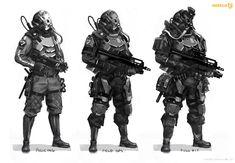 Helghast Soldier | Video Games Artwork
