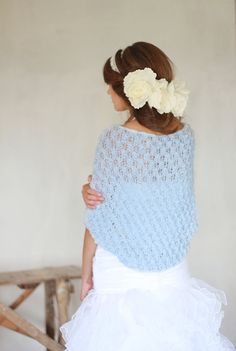 Wedding Shrug Occasion Bolero Hand Knitted Shrug by BVLifeStyle