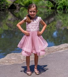 a62102522ea81 Khloe Dress. Sparkle PartyKids WardrobeLittle Girl ...