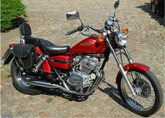 honda rebel 250 red 1999