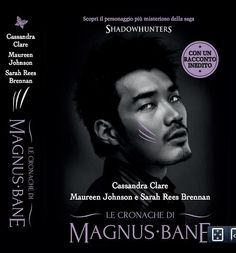 Magnus Bane on the Italian cover of the print version of The Bane Chronicles