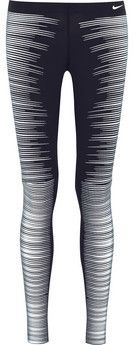 Printed Reflective Leggings aus Stretch-Jersey