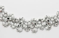 Deb Roberti's FREE Saturday Night Bracelet pattern done in new etched fire-polished beads..