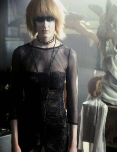 Daryl Hannah as Pris in Blade Runner (Rare) Fiction Movies, Cult Movies, Iconic Movies, Indie Movies, Science Fiction, Blade Runner Pris, Blade Runner 2049, Man In Black, Dramas