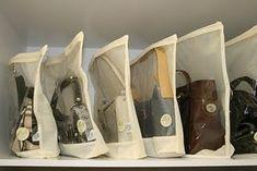 Organizando nossa casa...: Dia 5: Bolsas, bolsas e mais bolsas...