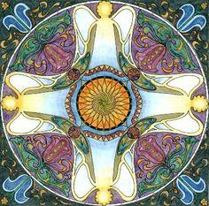 engelenmandala Circle Art, Magic Circle, Mandala Meditation, Mandala Art, Zen Doodle, Doodle Art, Buda Zen, Barbie Coloring Pages, Relaxing Art