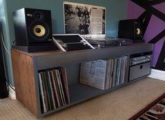 Gramophone shelf