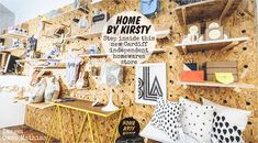 #Shoptalk: Step inside Home ByKirsty the new independent homewares store in Cardiff - @HomeArtyHome @homebykirsty   Home byKirsty, a new homewares store in #Cardiff, stocking new and emerging designer-makers including @SianElinDesign, @LovelyPigeon, @BritStitchUK and @Plumen.
