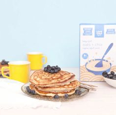 Our Oats + Chia Cereal makes a great addition to your favourite pancake recipe, and because it's supplemented with iron and has no added sugar, salt, artificial colours of flavours, it's a natural decision the whole family is sure to love! Nut Free, Superfoods, Pancake, 12 Months, Cereal, Vitamins, Salt, Easy Meals, Nutrition