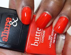 Allure and Butter London Arm Candy Nail Polish Collection   Statement Piece #bLxAllure