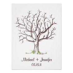 Fingerabdruck-Baum