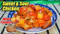 GAWING NAPAKASARAP NA SWEET AND SOUR CHICKEN AND ORDINARYONG MANOK!!! AN... Sweet Sour Chicken, Fries, Breakfast Recipes, Cooking Recipes, Dishes, Filipino, Bulletin Boards, Ethnic Recipes, School