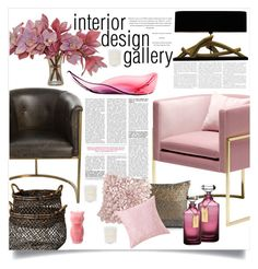 """""""interior design gallery"""" by kelle-elizabeth ❤ liked on Polyvore featuring interior, interiors, interior design, home, home decor, interior decorating, Arteriors, Lene Bjerre, Pyar & Co. and Waterford"""