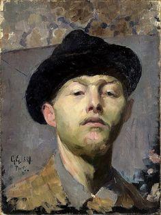 Giovanni Giacometti, Self-Portrait (1889)