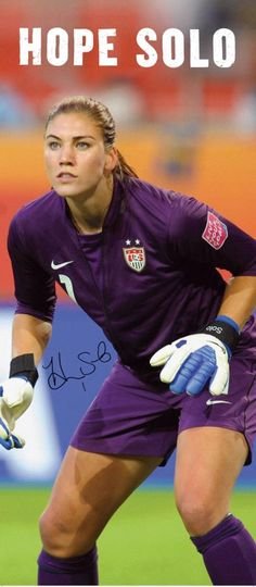 Hope Solo in the zone!! :)...my soul mate has nice long legs and beautiful thighs!