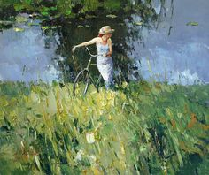 alexi zaitsev art | After bathing - Alexi Zaitsev - Sale of paintings and other art works