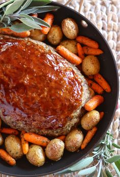 Meatloaf Skillet Dinner