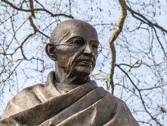 Gandhi Statue On Parliament Square Mahatma Gandhi, Good And Cheap, Photographs, Statue, London, Image, Photos, London England, Sculptures