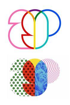 New visual identity for the Amsterdam Gay Pride (AGP) by VBAT | 2013 | Met behulp van dit kader als uitgangspunt, in combinatie met patronen die verwijzen naar kitsch en de populaire cultuur van Amsterdam, is het mogelijk om schijnbaar eindeloze versies van het logo te creëren.