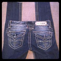 Rock Revival Scarlett Skinny Size 26 Skinny, wanting to trade for other Rocks Rock Revival Jeans Skinny