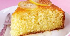 A delicious Portuguese style simple lemon cake (bolo de limão simples) that is easy to make and very moist. Food Cakes, Cupcakes, Cupcake Cakes, Citrus Cake, Semolina Cake, Zucchini Cake, Recipe Sites, Savoury Cake, Clean Eating Snacks